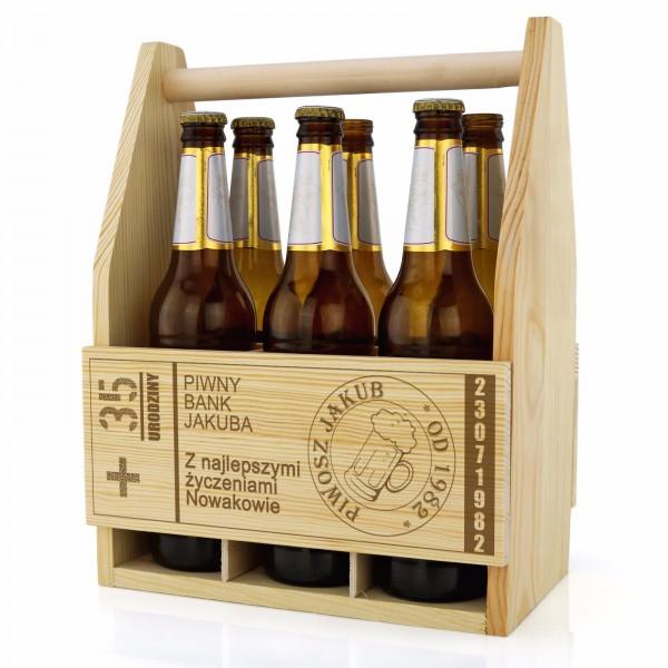 spersonalizowana skrzynka na piwo
