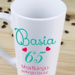 kubek + imię, kubek latte