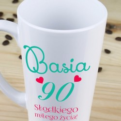 kubek latte dla żony na urodziny