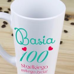 prezent dla żony na 100-tne urodziny - kubek