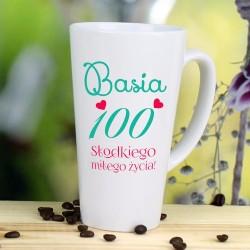 kubek dla żony z okazji 100. urodzin