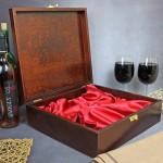 skrzynka na wini - prezent dla męża
