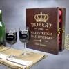 urodzinowa skrzynka na wino