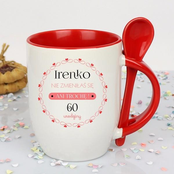 upominek z okazji 60 urodzin - personalizowany kubek