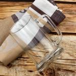 szklany kufel z grawerem na prezent