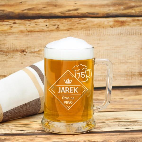 kufel na piwo z personalizacją