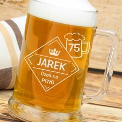 spersonalizowany kufel na piwo - prezent dla brata