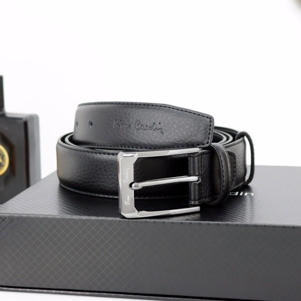 49e0a5d948bfd Zestaw Pierre Cardin: pasek i portfel z grawerem - upominek dla ...