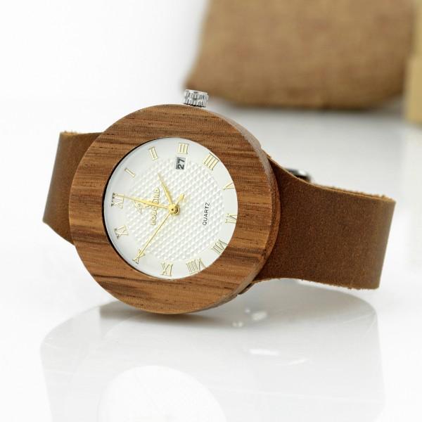 6d149f4780d54d Archiwum produktów - Zegarek z drewna bambusowego + grawer - prezent ...