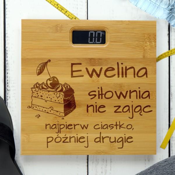 oryginalna waga łazienkowa z personalizacją