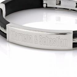 bransoletka na urodzinowy prezent dla męża