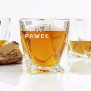spersonalizowane szklanki do whisky na prezent z okazji 60 urodzin
