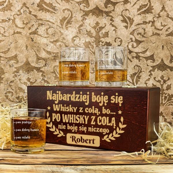 szklanki do whisky z grawerem na prezent dla niego